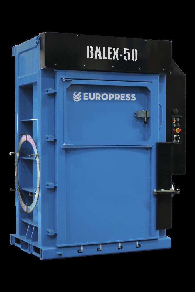 jätepaalain Europress Balex-50