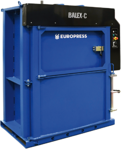 waste baler for metal cans