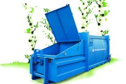 jätepuristin muovinkeräykseen