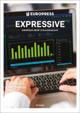 Europress Asiakaslehti EXPRESSIVE referesssit jätepuristin jätepaalain hinta