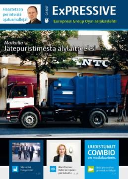 Kerromme jätepuristimien ja jätepaalaimien kehityksestä, jätehuollon uudistuksesta Myyrmannissa sekä uudesta yhteistyöstä kierrätysyrityksen kanssa.