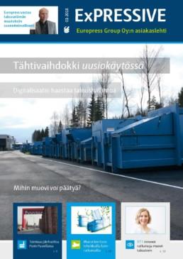 Europress EXPRESSIVE - lehti jätehuollosta, jätepuristimista ja jätepaalaimista