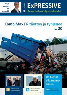 Jätehuoltoratkaisut, CombiMax FR -jätepuristin ja Balex-jätepaalaimet esittelyssä