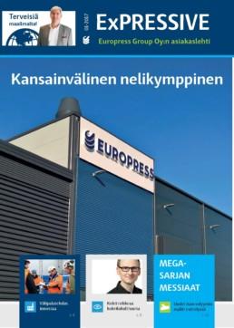 Kotimainen jätepuristimen ja jätepaalaimien valmistaja 40 vuotta!