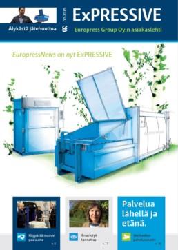 Asiakaslehti kertoo Gigantin jätehuoltoratkaisusta, muovipaalin valmistuksesta ja jätehuollon sanastosta.